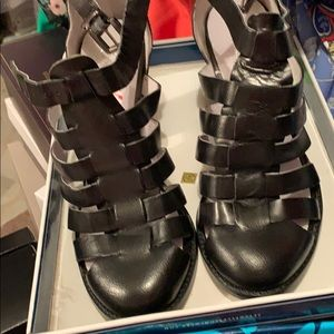 Seychelles black sandals brand new